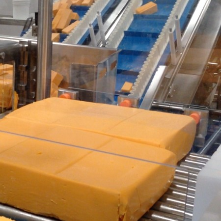 Retail Cheese Shred Lines by HART Design