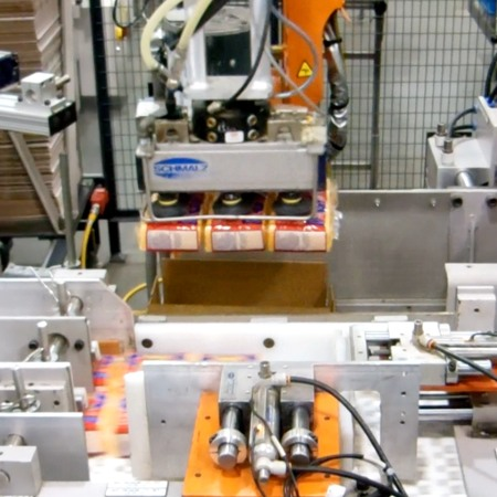 Robotic Case Packing Equipment by HART Design & Manufacturing