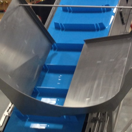 Cutting & Elevating Conveyor by HART Design & Manufacturing