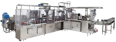HCC Filling Machine by HART Design and Manufacturing
